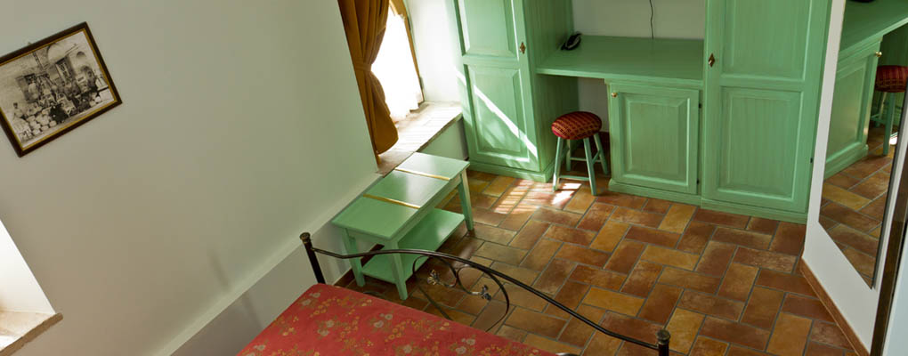 La camera Piantone