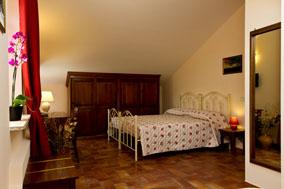 Camera matrimoniale Ribona